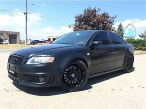 2007 Audi RS 4 LOW KM! SATIN BLACK! ONE OF A KIND!