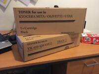 Black toner - Kyocera mita tk410/420/435