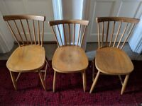 Spare or additional 60s Windsor wooden dining chairs