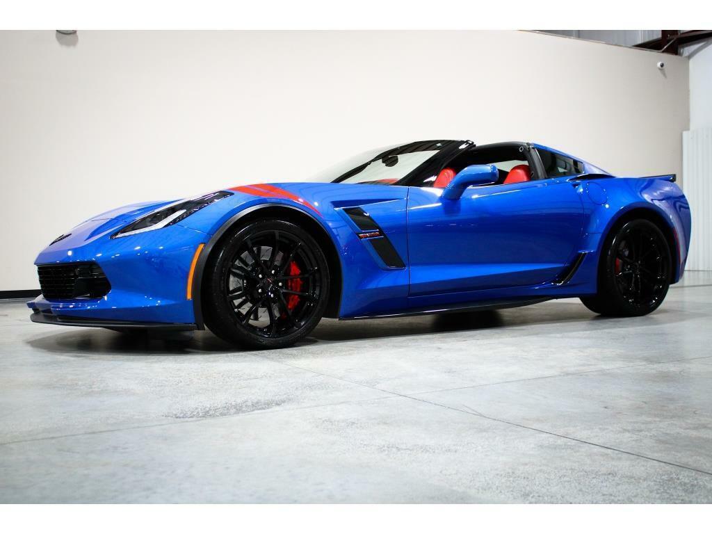 2019 Blue Chevrolet Corvette Grand Sport 2LT   C7 Corvette Photo 9
