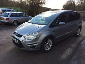 2010 FORD S-MAX ZETEC TDCI SILVER 7 SEATER 1 OWNER FROM NEW