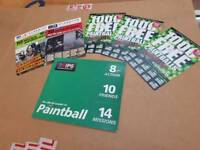 PAINTBALLING IPG TICKETS 30 in total 20 adults 10 kids 3000 paintballs