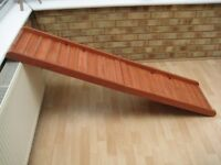 Wooden fold up Large Dogs car ramp 1600mm (extended) x 400 x 115