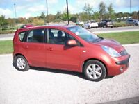 Very tidy 2007 Nissan Note 1.4