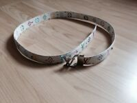 Belt in the style of Louis Vuitton