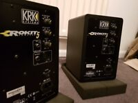 Krk Rokit 5 Speakers Not pioneer