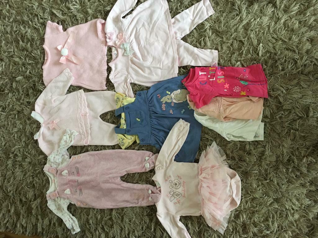 Baby Girls Bundle 3-6 Months Girls' Clothing (newborn-5t)