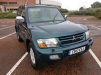 MITSUBISHI SHOGUN DID, SWB IN GREEN, EXCELLENT DRIVER, TIDY LOOKING JEEP, 10 MONTHS M.O.T,