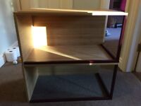 2 Ikea Side Tables 60 cm x 30 cm x 35 cm