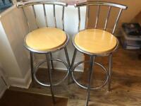 Bar stools- a pair