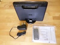 Sony Speaker Dock RDP-M7iP Apple iPhone 30-pin/Audio-In Mains+Battery Box+Remote *VGC* SOLD!!!