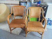 two conservatory chairs