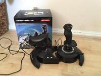 **Thrustmaster flight T Hotas X joystick**