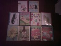 10 Birthday cards(mixed designs)