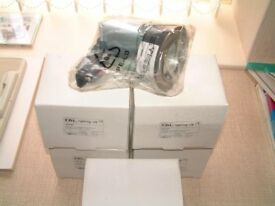 5 -New Downlighters in boxes - 50 watt 240 volt GU10