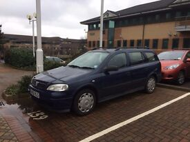 Vauxhall Astra Estate 1.4 petrol in Blue