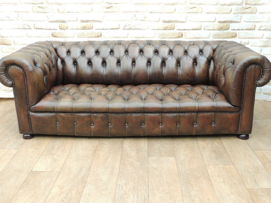 Phenomenal Antique Vintage Chesterfield Sofa Uk Delivery In Eltham London Gumtree Download Free Architecture Designs Aeocymadebymaigaardcom
