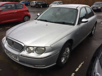 Rover 75 Connoisseur 2004 Siver Bargain trade in to clear