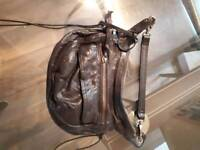All Saints Small Leather Bag