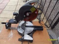 a sliding mitre saw