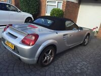 2000 TOYOTA MR2 SILVER (MRS/Roadster) Convertible