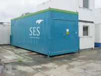 25ft x 8ft High Security Site Storage Unit For Sale IN STOCK shipping container portable cabin shed