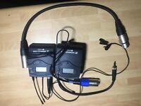 Seinheisser wireless microphone professional
