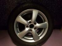 Honda civic VIII alloy with tyre 205/55/16