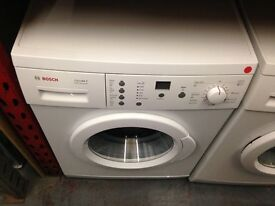 BOSCH 6KG 1200 CLASSIXX WHITE WASHING MACHINE RECONDITIONED