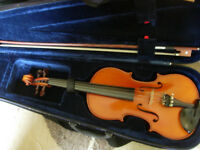 3/4 size (probably Czech) good violin- suit age 9+/adult