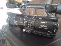 SONY HDV Z1E PROFESSIONAL CAMERA (HD CAMCORDER)
