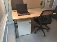 Wood finish Sven Christiansen Office desk/table TOP ONLY!!! (No legs)