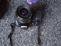 Canon 60D DSLR Camera With 35-80mm lens, Strap, 32GB Memory card, Battery & Charger