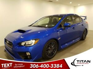 2017 Subaru WRX STi Sport|Turbo|Symmetrical AWD|CAM|Sunroof|Blue