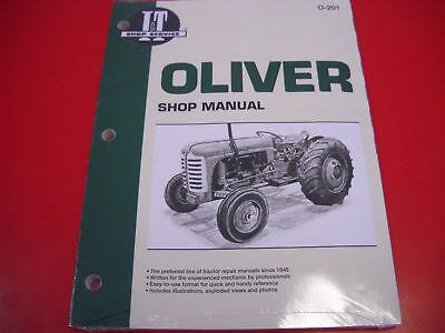 Oliver Tractor It Shop Service Manual 66 77 88 99 Super 55 660 770 880 550