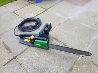 Electric chainsaw 40cm very good condition.