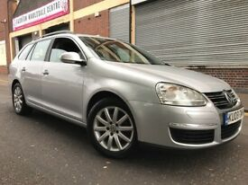 Volkswagen Golf 2008 1.9 TDI DPF SE 5 door ESTATE, 2 OWNERS, 3 MONTHS WARRANTY, BARGAIN
