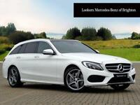Mercedes-Benz C Class C250 D AMG LINE PREMIUM (white) 2016-09-15
