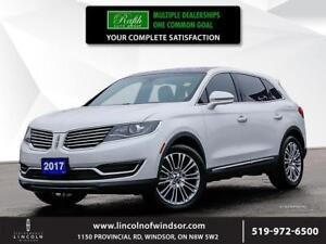 2017 Lincoln MKX Reserve ***NAV, AWD, leather, Moonroof***