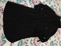 Women's Black Shirt/Dress, Size 16