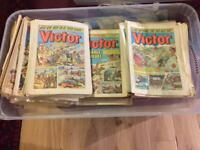 Victor comics job lot of 116 from the 70s and early 80s
