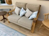 Conservatory 2 seater sofa and 2 arm chairs