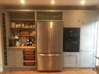Grey Second Hand kitchen plus John Lewis induction hob, dishwasher & Neff Oven & granite work tops