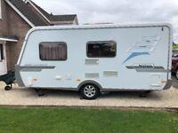Hymer Nova 470 Caravan, German Quality