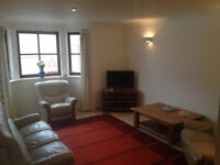 Spacious and bright two bedroom furnished flat to rent in excellent West End location.