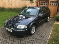 2004 VW Passat 2.0 130 highline petrol manual estate, very clean inside and out