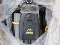 brand new boxed powakaddy C2 electric golf trolley,36 hole lithium battery,charger.