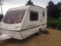 Abbey aventura 2 berth touring caravan