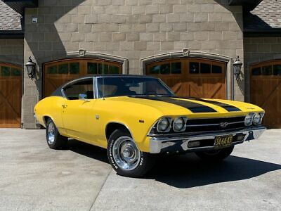 NO RESERVE 1969 CHEVROLET CHEVELLE SUPER SPORT 396 SS 4 SPEED MATCHING NUMBERS