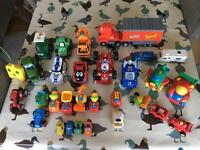 Tractors & Car toys - including Roary & Lightning McQueen